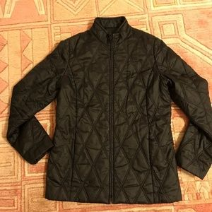 HALOGEN Quilted Diamond Riding Jacket autumn M